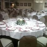 mesa salón boda quorum