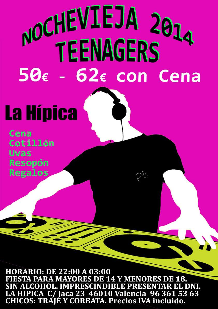 noche vieja 2014 teenagers