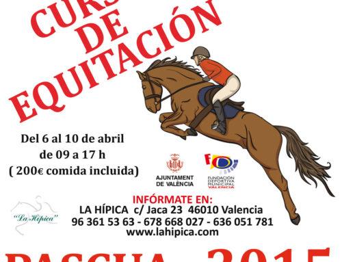 Curso de Equitación