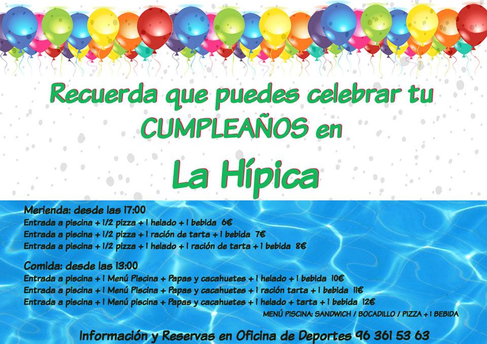 celebrar cumpleaños hípica 2016