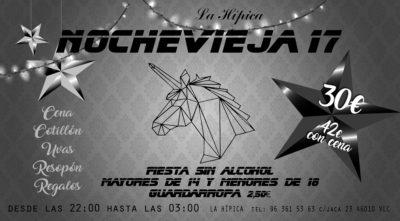 nochevieja 2017 la hipica valencia