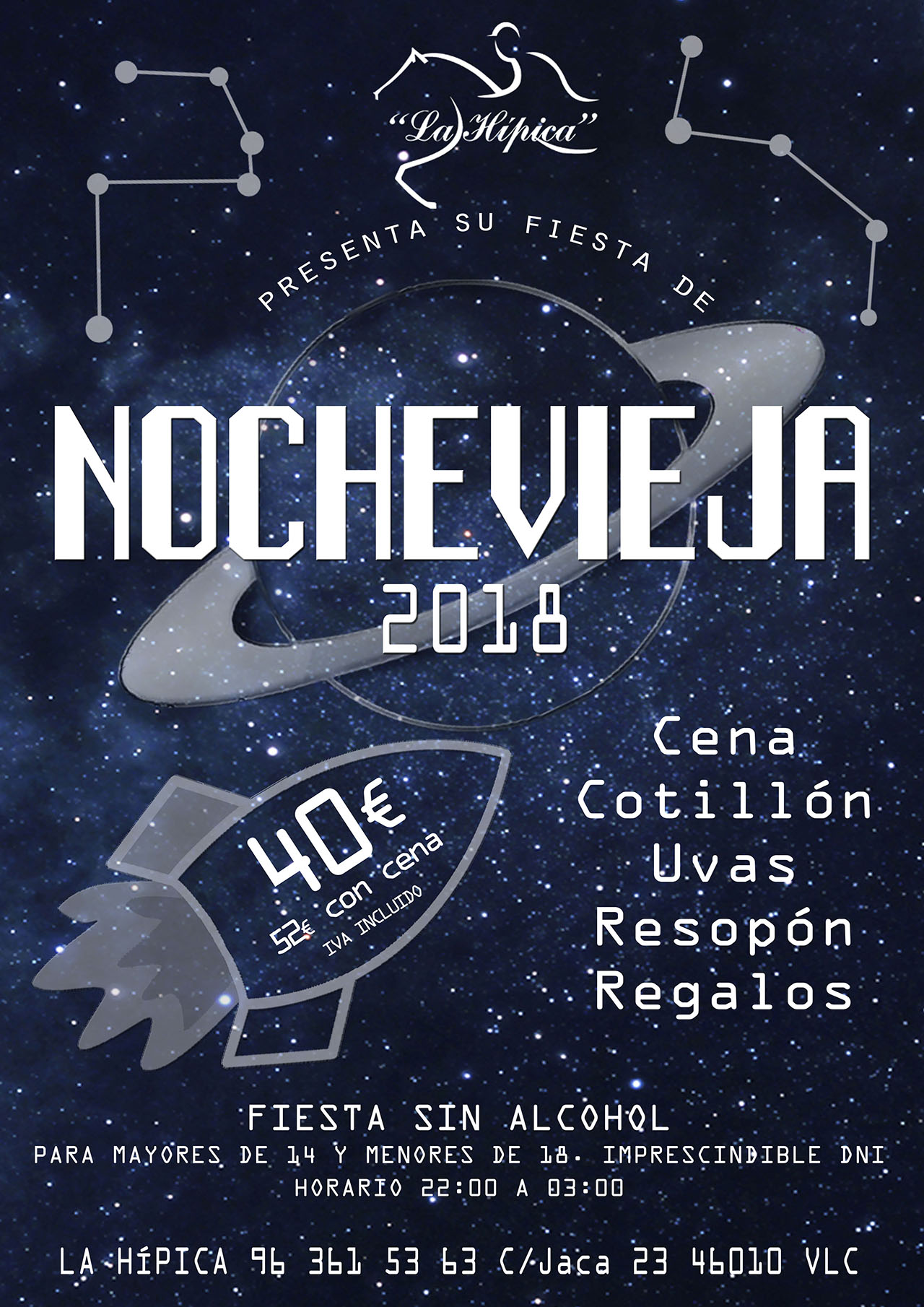 nochevieja 2018, nochevieja valencia