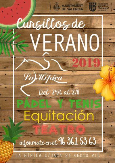 cursillos verano 2019, cursos de verano valencia 2019