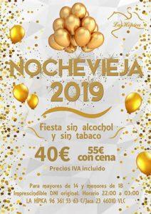 nochevieja 2019 valencia