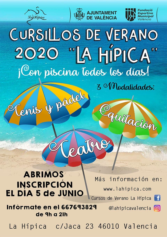 cursillos verano 2019, cursos de verano valencia 2020